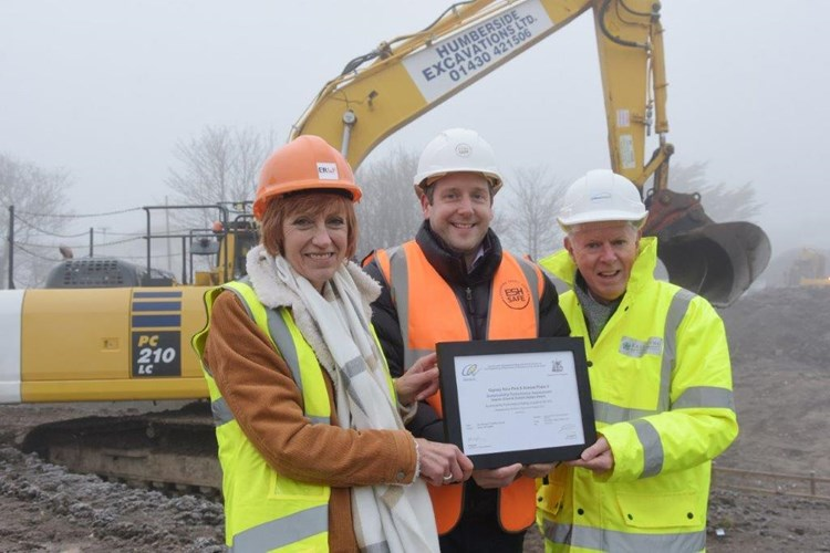 Ceequal Award for Gypsey Race Park Phase 2 Design